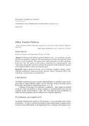 Hilbert Transform Relations - Cybernetics and Information ...