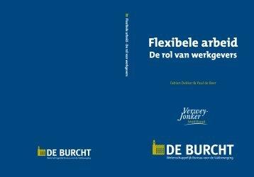 Flexibele arbeid - de rol van werkgevers I De Burcht 3-11-2014