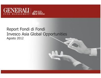 Report Fondi di Fondi Invesco Asia Global Opportunities