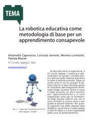 La robotica educativa come metodologia di base per un ... - Errore