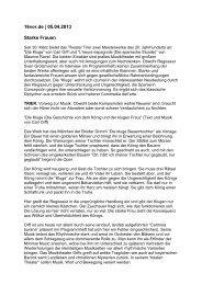 16vor.de   05.04.2013 Starke Frauen - Theater Trier