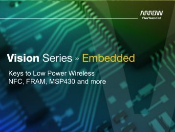 Download Presentation - Arrow Electronics