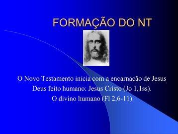 FORMAÇÃO DO NT - estef