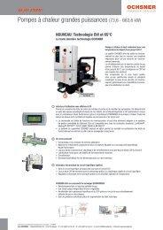 Pompes à chaleur grandes puissances (73,6 - 663,6 kW) - accubel