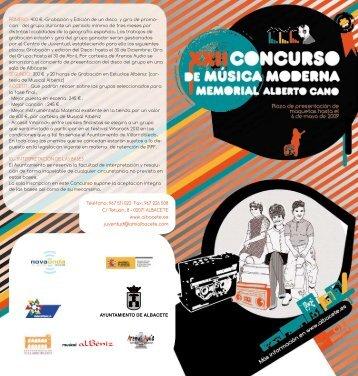 PRIMERO: 400 €.-Grabación y Edición de un ... - Albacetejoven.es
