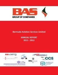 2012 Financials - Bermuda Stock Exchange