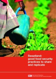 Swaziland: good food security practices to share and replicate