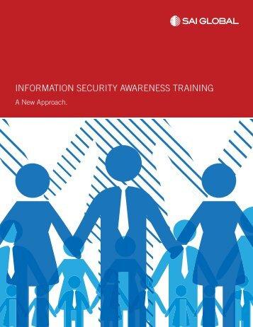 INFORMATION SECURITY AWARENESS TRAINING - SAI Global