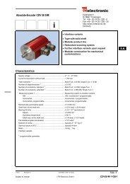 Safety Encoder Solid Shaft - KLS Controls LLC