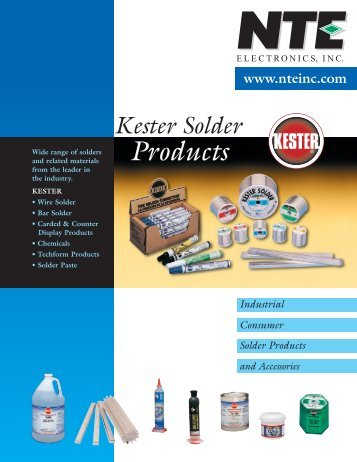 Kester Solder Products - Octopart