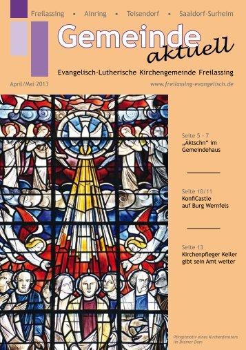 April/Mai - Evangelisch-Lutherische Kirchengemeinde Freilassing