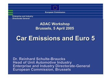 Download European Commission presentation - FIA Foundation