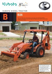 Daedong Tractor - Kioti Tractors