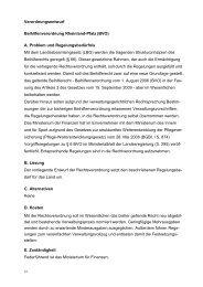Beihilfenverordnung Rheinland-Pfalz (BVO)