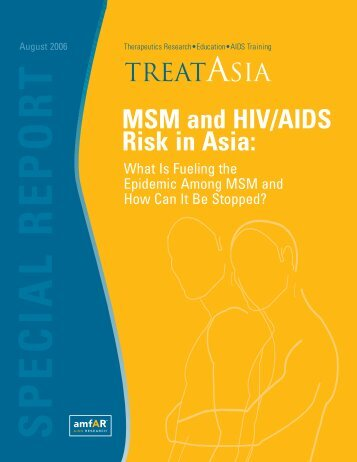 MSM and HIV/AIDS Risk in Asia - amfAR