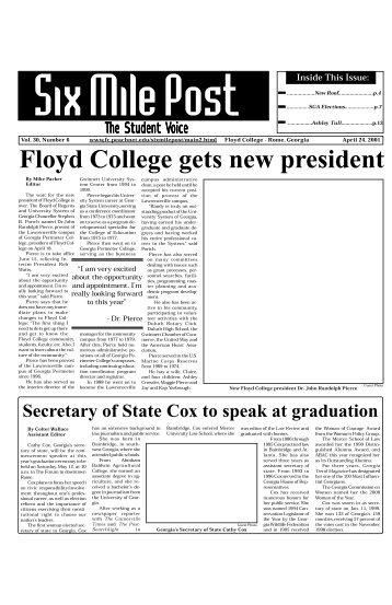 Floyd College gets new president - Georgia Highlands College