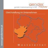 Folder Mostviertel - gendernow