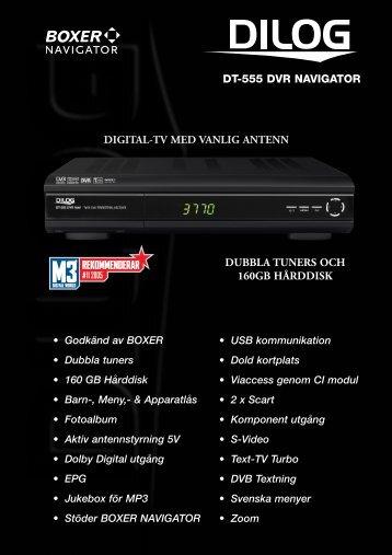 Produktblad DT-555