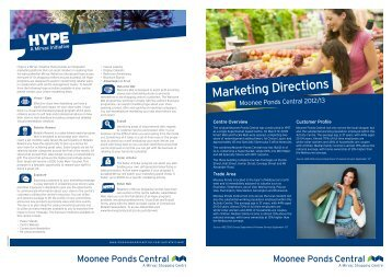 Marketing Directions - Mirvac | Retail