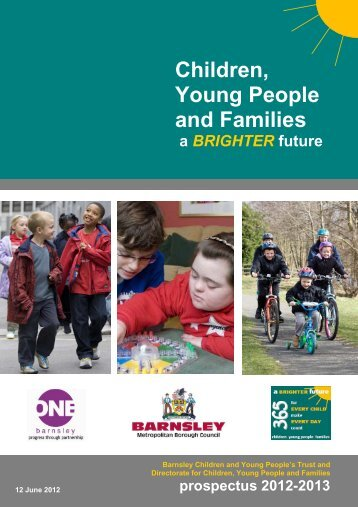 Prospectus for 2012-13 - Barnsley Council Online