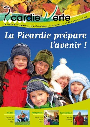 Picardie Verte N°40 (Novembre 2009) - Communauté de ...
