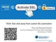 One click away from custom SSL automation - WorldHostingDays
