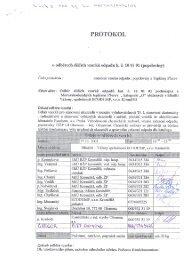 Protokol - o odběrech dílčích vzorků odpadu - Město Kroměříž