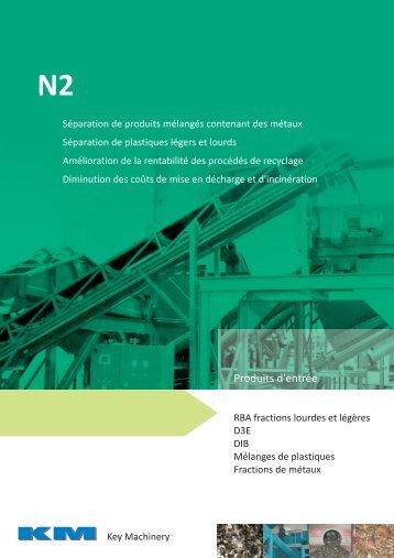 Produits d'entrée - KM-Recycling