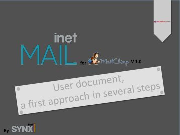 User document, a first approach in several steps - SugarForge