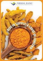 SHORT TERM OUTLOOK TURMERIC 2