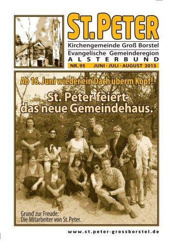 Juni-August-2013 - St.Peters bewegte Geschichte…
