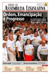 Ordem, Emancipação - Assembléia Legislativa do Estado do Pará