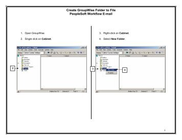 how to delete email from groupwise