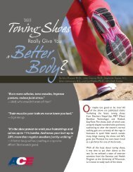 Toning Shoes - American Council on Exercise