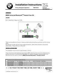 Installation Instructions Page 1 of
