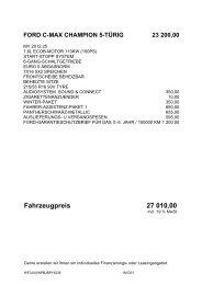 Fahrzeugpreis 27 010 00
