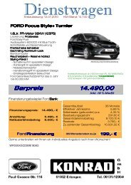 FORD Focus Style+ Turnier FORD Focus Style+ Turnier