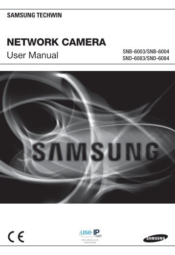 Samsung SND-6083 User Manual - Use-IP