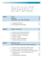 Kapitel 1 Kapitel 2 Kapitel 3 Vorwort 9 ... - sportfachbuch.de