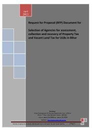 Request for Proposal (RFP) Document for - Bihar Govt. Tenders