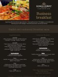Business Breakfast - Kings Court Prague - Page 2