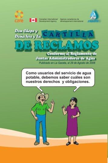 CARTILLA DE RECLAMOS 12.cdr - Pasos Honduras