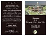 Breckinridge County Judicial Center Groundbreaking
