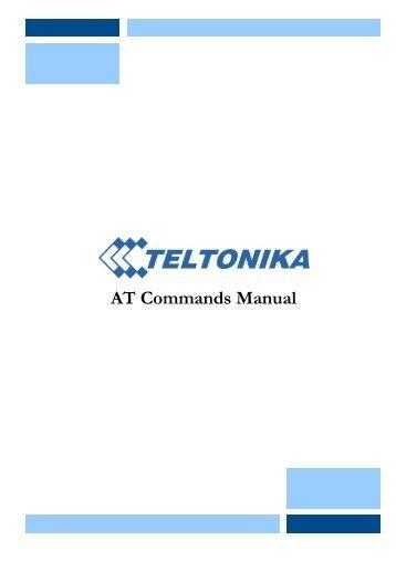 Teltonika gh4000 manuals.