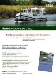 Flashnews AU FIL DE L'EAU - Atelier du Voyage