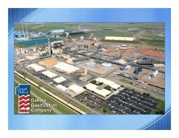 Dakota Gasification Company Dakota Gasification Company