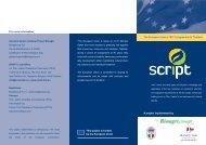 The European Union's TEC II programme for ... - SCRIPT Project