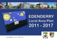 Edenderry Local Area Plan 2011-2017 - Offaly County Council