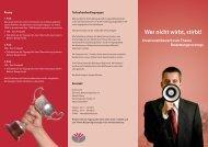 Flyer Wettbewerb (PDF) - bei der Agentur für ...