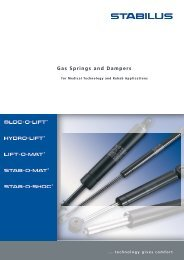 Gas Springs and Dampers - EXPO21XX.com